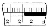 На рисунке показана часть шкалы комнатного термометра